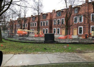 Buffalo Townhome Construction